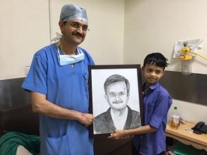 Dr Naimish Mehta Portrait