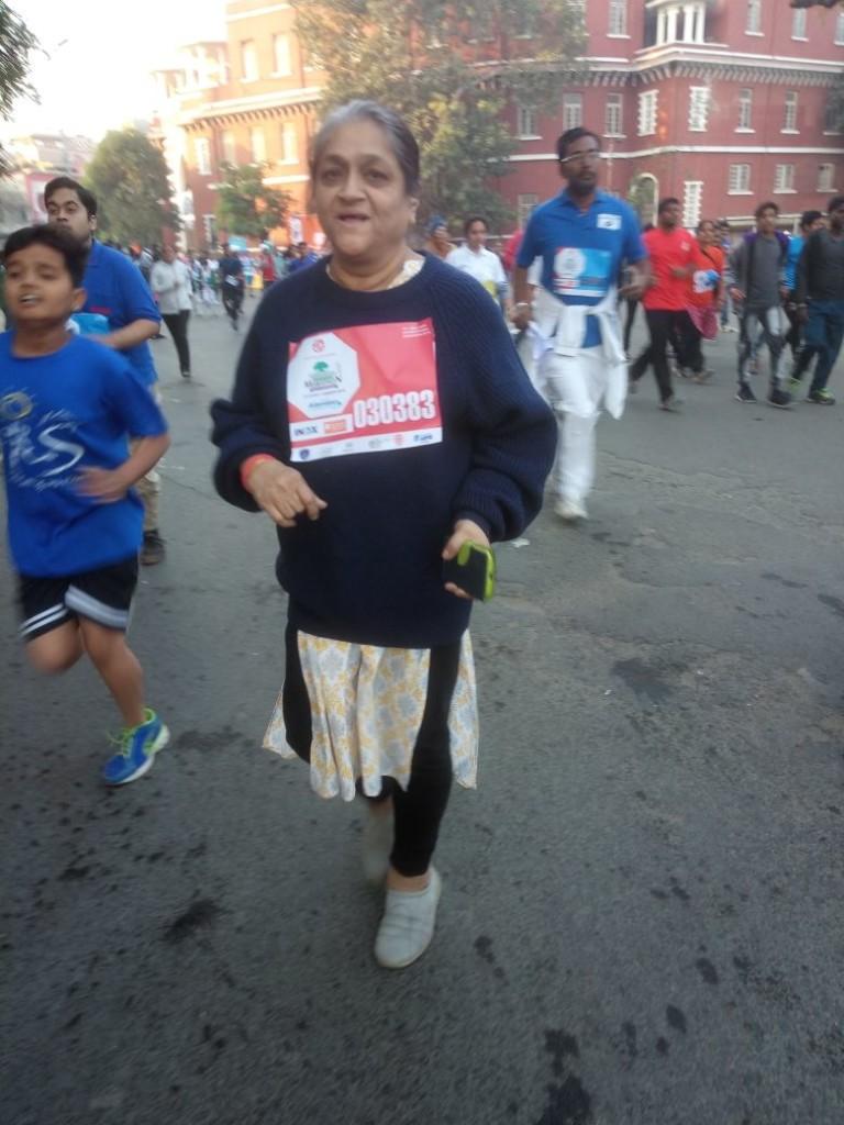 Post liver transplant patient has completed Vadodara International Marathon